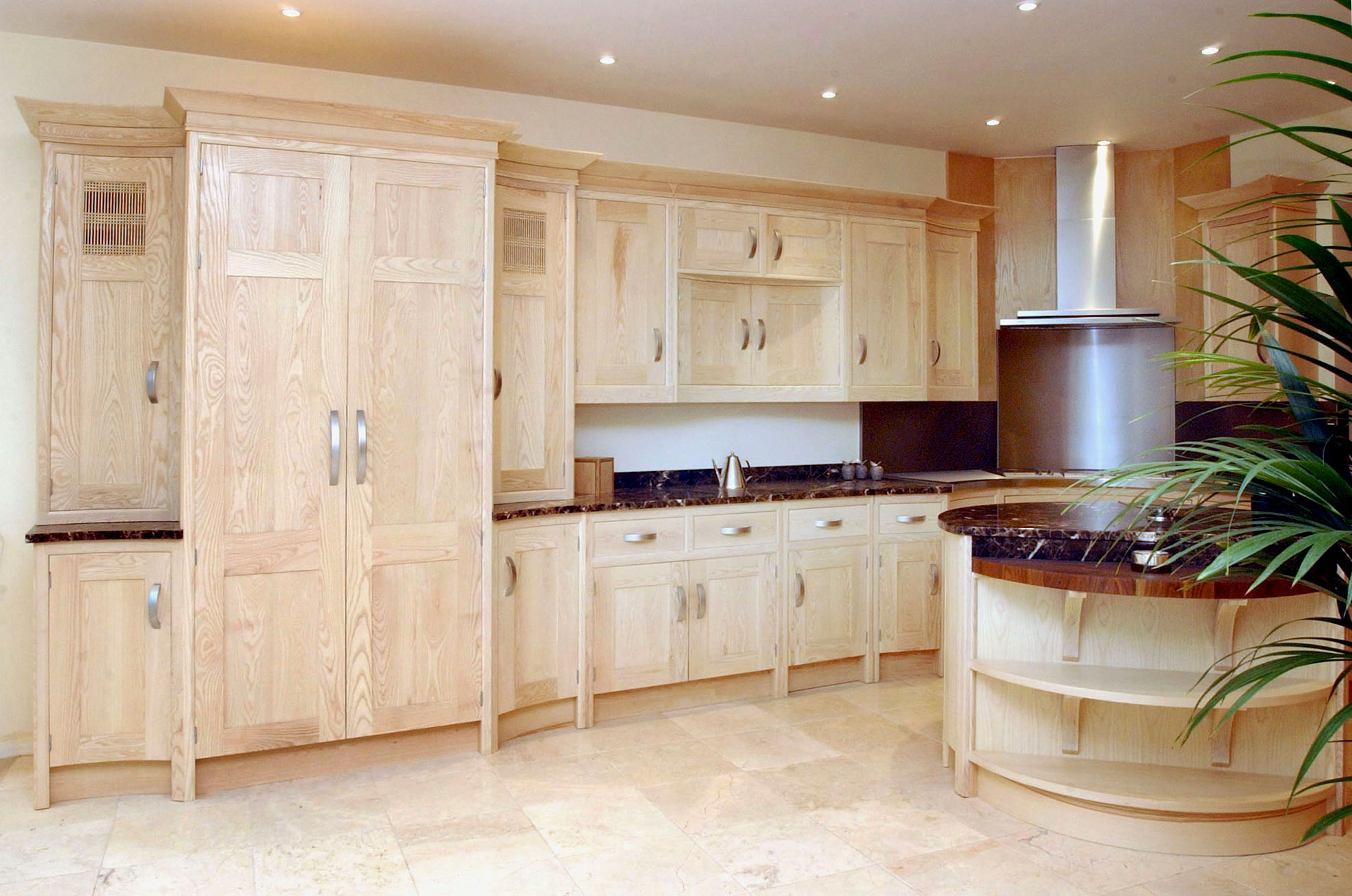 Light Oak Kitchen Furniture Bespoke Kitchens Furniture By Mario