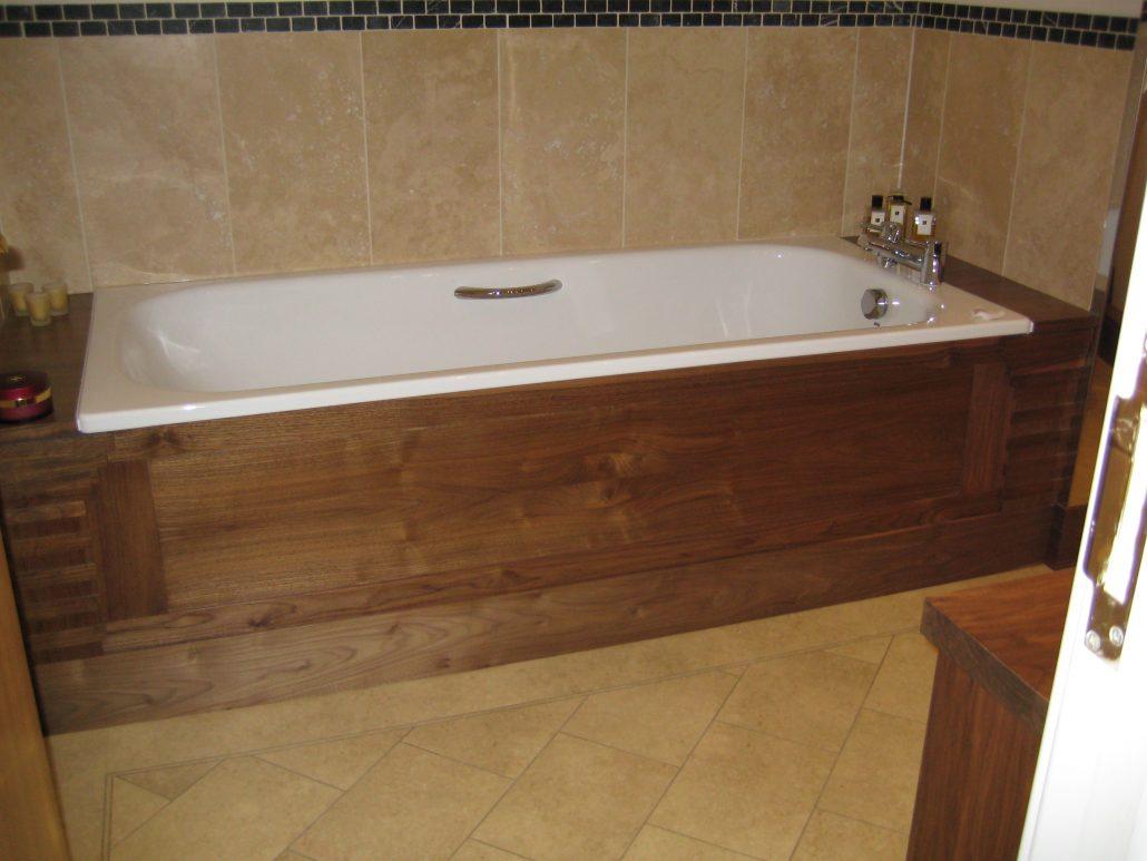 Walnut bathroom furniture - American Black Walnut Suite Of Bathroom Furniture