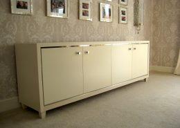 Ash veneer elegant contemporary sideboard 1