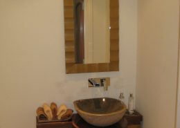 American Black Walnut clockroom unit And Mirror