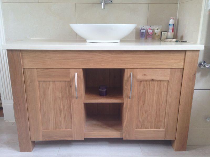 Oak Bathroom Vanity Unit Bespoke Kitchens Furniture By Mario Panayi